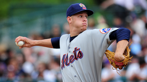 Zack Wheeler has allowed more than two runs just once as a Met.