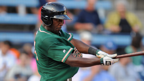 Marcell Ozuna has 40 RBIs in 60 Florida State League games.