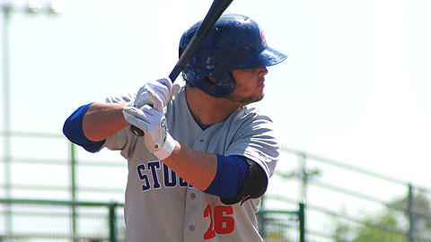 Stockton Ports infielder Miles Head hit .394 with a 1.153 OPS in May.